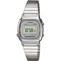 Buy Casio Mini Ladies Silver Tone Digital Watch LA670WEA-7EF online