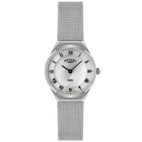 Buy Rotary Ladies Ultra Slim Silver Tone Mesh Bracelet Watch LB02609-41 online