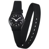 Buy Swatch Ladies Black Round Resin Watch LB170 online