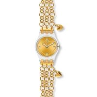 Buy Swatch Ladies Golden Curl Watch LK324G online