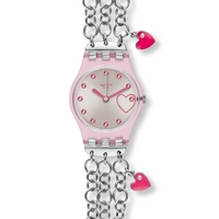 Buy Swatch Ladies Charming Pink Watch LP129G online