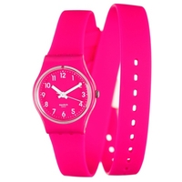 Buy Swatch Ladies Pink Round Resin Watch LR123 online
