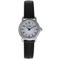Buy Rotary Ladies Black Leather Strap Watch LS02864-41 online