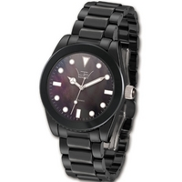 Buy LTD Ladies Black Ceramic MOP Dial Watch LTD030624 online