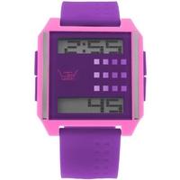 Buy LTD Unisex Purple Rubber Strap Watch LTD130405 online