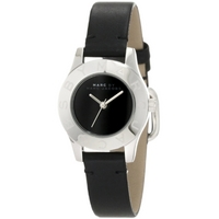 Buy Marc by Marc Jacobs Ladies Mini Blade Black Leather Strap Watch MBM1211 online