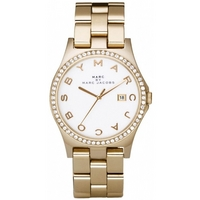 Buy Marc by Marc Jacobs Ladies Henry Gold Tone Steel Bracelet Watch MBM3045 online
