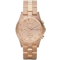 Buy Marc by Marc Jacobs Ladies Henry Gold Tone Steel Bracelet Watch MBM3074 online