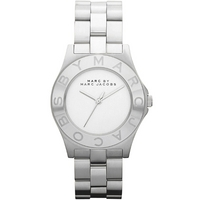 Buy Marc by Marc Jacobs Ladies Blade Silver Tone Bracelet Watch MBM3125 online