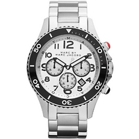 Buy Marc by Marc Jacobs Gents Rock Silver Tone Steel Bracelet Watch MBM5027 online