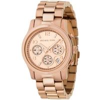 Buy Michael Kors Ladies Rose Gold Tone Bracelet Watch MK5128 online
