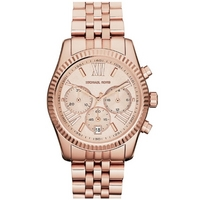 Buy Michael Kors Ladies Chronograph Rose Gold Bracelet Watch MK5569 online