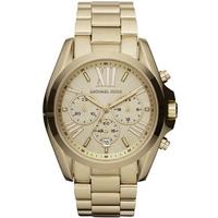 Buy Michael Kors Ladies Chronograph Gold Tone Steel Bracelet Watch MK5605 online