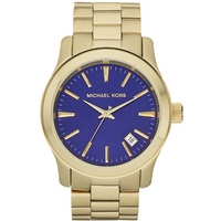 Buy Michael Kors Unisex Gold Tone Steel Bracelet Watch MK7049 online