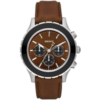 Buy DKNY Gents Sport Leather Strap Watch NY1514 online