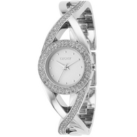 Buy DKNY Ladies Stone Set Twist Watch NY4716 online