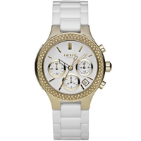 Buy DKNY Unisex Ceramic Fashion Watch NY4986 online