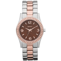 Buy DKNY Ladies 2 Tone Steel Bracelet Watch NY8479 online