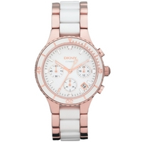 Buy DKNY Ladies Fashion 2 Tone Steel Bracelet Watch NY8504 online