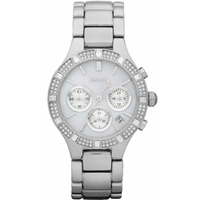 Buy DKNY Ladies Fashion Chronograph Steel Bracelet Watch NY8507 online