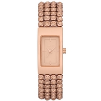 Buy DKNY Ladies Rose Gold Plated Bracelet Watch NY8560 online