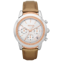 Buy DKNY Ladies Fashion Stone Set Chronograph Watch NY8586 online