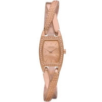 Buy DKNY Ladies Rose Gold Stone Set Bracelet Watch NY8595 online