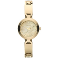 Buy DKNY Ladies Fashion Gold Tone Bracelet Watch NY8614 online