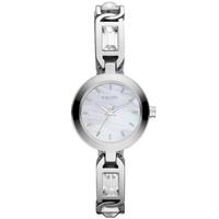 Buy DKNY Ladies Stone Set Silver Tone Bracelet Watch NY8617 online