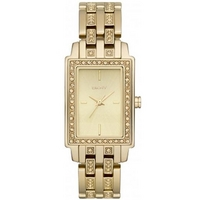 Buy DKNY Ladies Fashion Gold Tone Stone Set Bracelet Watch NY8624 online