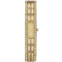 Buy DKNY Ladies Stone Set Gold Tone Bracelet Watch NY8630 online
