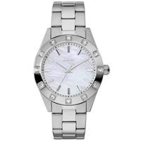 Buy DKNY Ladies Stone Set Silver Tone Bracelet Watch NY8660 online