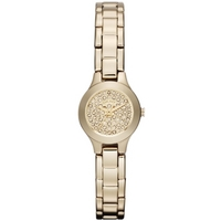 Buy DKNY Stone Set Ladies Gold Tone Steel Bracelet Watch NY8692 online
