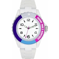 Buy Pauls Boutique Ladies Luna White Rubber Strap Watch PA004SLWH online