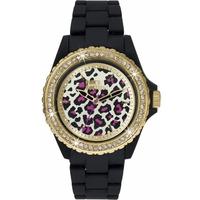 Buy Pauls Boutique Ladies Luna Black Rubber Strap Watch PA005GDBK online