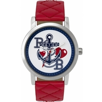 Buy Pauls Boutique Ladies Mia Red Leather Strap Watch PA007RD online