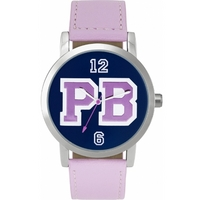 Buy Pauls Boutique Ladies Mia Pink Leather Strap Watch PA012PK online
