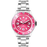 Buy Ice-Watch Ladies Pink Dial Resin Strap Watch PU.PK.U.P.12 online