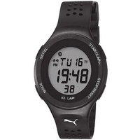Buy Puma Gents Faas 200 Digital Black Resin Sport Strap Watch PU910931003 online