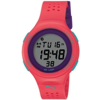 Buy Puma Ladies Faas 200 Digital Red Resin Sport Strap Watch PU910931004 online