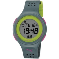 Buy Puma Ladies Faas 200 Digital Grey Resin Sport Strap Watch PU910931005 online