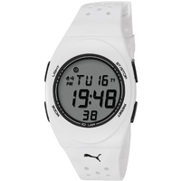 Buy Puma Gents Faas 250 Digital White Resin Sport Strap Watch PU910942002 online
