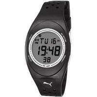 Buy Puma Gents Faas 250 Digital Black Resin Sport Strap Watch PU910942003 online