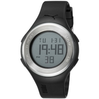 Buy Puma Gents Loop Steel Digital Black Resin Sport Strap Watch PU910981001 online