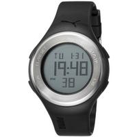Buy Puma Gents Loop Steel Digital Black Resin Sport Strap Watch PU910981001 online