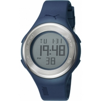 Buy Puma Gents Loop Steel Digital Blue Resin Sport Strap Watch PU910981003 online