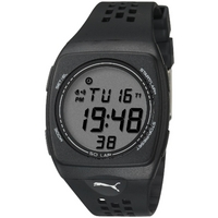Buy Puma Gents Faas 300 Digital Black Resin Sport Strap Watch PU910991002 online