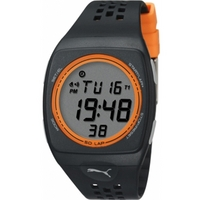 Buy Puma Gents Faas 300 Digital Black Resin Sport Strap Watch PU910991004 online