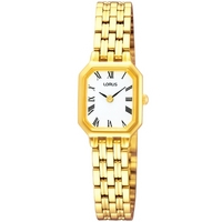 Buy Lorus Ladies Gold Tone Bracelet Watch REG64FX9 online