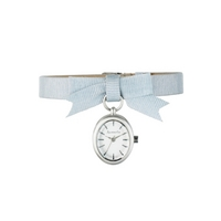 Buy Accessorize Ladies Grey Material Strap Watch S1065 online